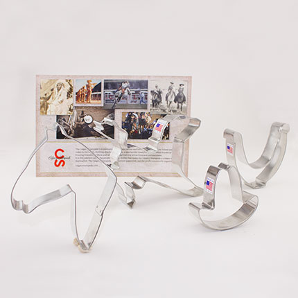 Custom-Calgary Stampede Cookie Cutter