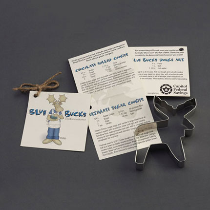 Custom Cookie Cutter - Capitol Federal Savings Bank Moose