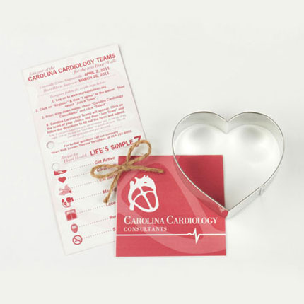 Custom Cookie Cutter -  Carolina Cardiology Consultants