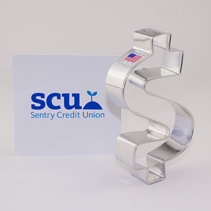 Custom-Sentry Credit Union Cookie Cutter