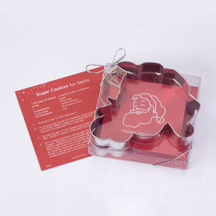 Custom Cookie Cutter - Coca Cola Santa