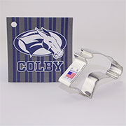 Custom-Colby College Cookie Cutter