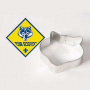 Custom Cookie Cutter - Cub Scouts Wolf