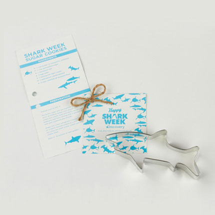 Custom Cookie Cutter - Discovery Shark