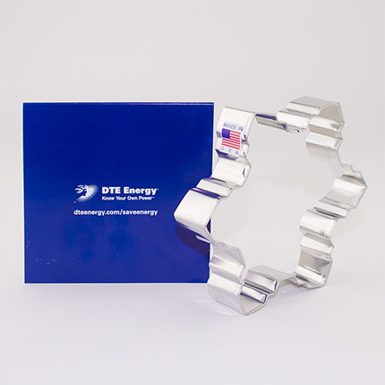 Custom-DTE Energy Cookie Cutter