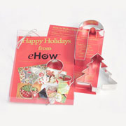 Custom Cookie Cutter Set -  eHow Christmas