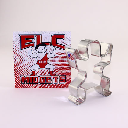 Custom-ELC Midgets Cookie Cutter