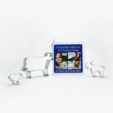 Custom Cookie Cutter Set - Milk Products Farm Animals