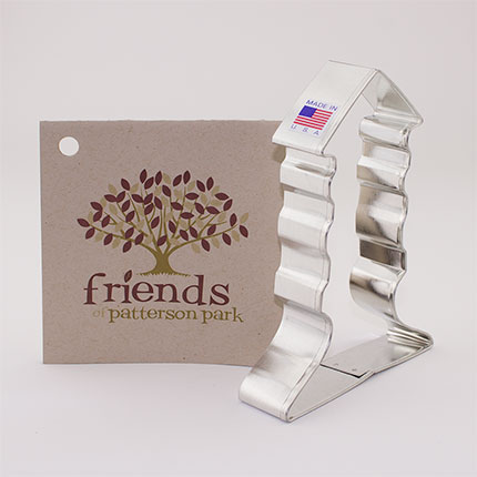Custom-Friends Of Patterson Park Cookie Cutter