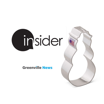 "Custom-Greenville News ""Insider"" Cookie Cutter"