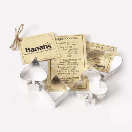 Custom Cookie Cutter Set- Harrahs Council Bluffs