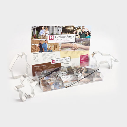 Custom Cookie Cutter Set - Heritage Family Credit Union