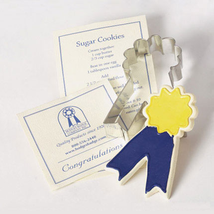 Custom Cookie Cutter - Hodges Badge Company Ribbon