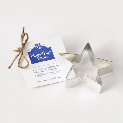 Custom Cookie Cutter - HomeTrust Bank Star