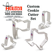 Custom-Houston Rodeo Cookie Cutter