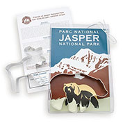 Custom Cookie Cutter Set - Jasper National Park