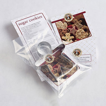 Custom Cookie Cutter - King Arthur Flour Gingerbread Boy