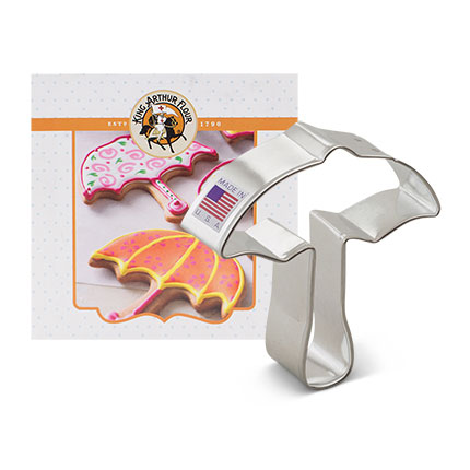 Custom-King Arthur Flour Umbrella Card Cookie Cutter