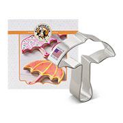 Custom-King Arthur Flour Umbrella Card Cookie Cutter