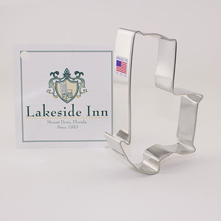 Custom-Lake Side Inn Cookie Cutter