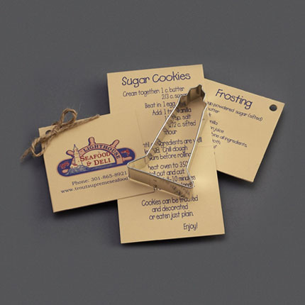 Custom Cookie Cutters - Lighthouse Seafood & Deli