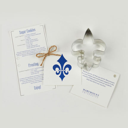 Custom Cookie Cutter Set - Marymount University