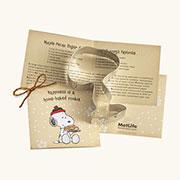 Custom Cookie Cutter - MetLife Snoopy