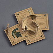 Custom Cookie Cutter - Michigan State Spartan