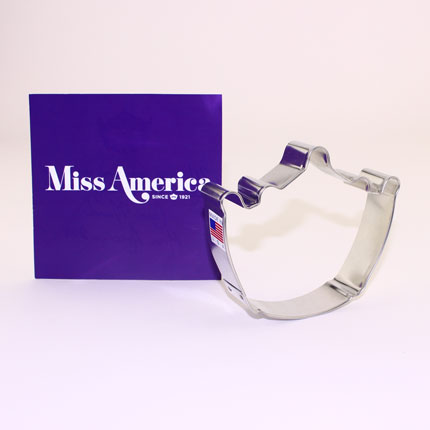 Custom-Miss America Crown Cookie Cutter
