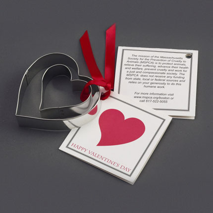 Custom Cookie Cutter Set - MSPCA Hearts