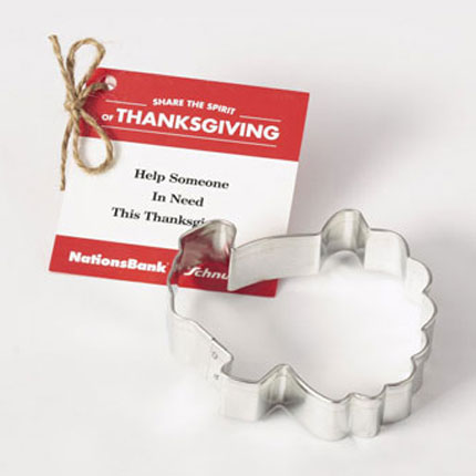 Custom Cookie Cutter - NationsBank Turkey