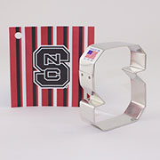 Custom-North Carolina State University Cookie Cutter