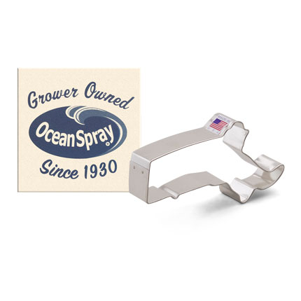 Custom-Ocean Spray Cookie Cutter