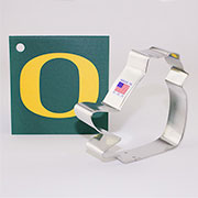 Custom-University of Oregon Cookie Cutter