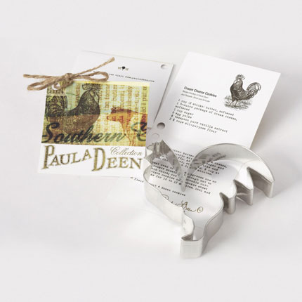 Custom Cookie Cutter - Paula Deen Rooster