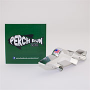 Custom-Perch Run Cookie Cutter