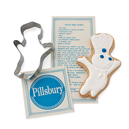 Custom Cookie Cutter - Pillsbury Doughboy