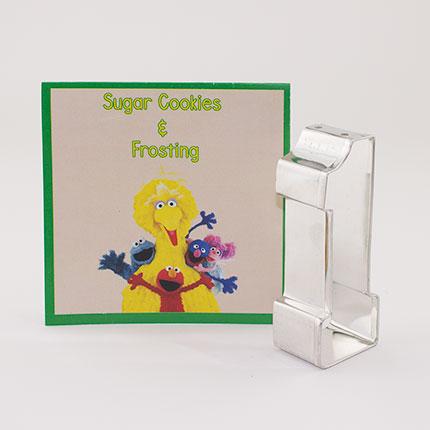 Custom-Sesame Street Number 1 Cookie Cutter