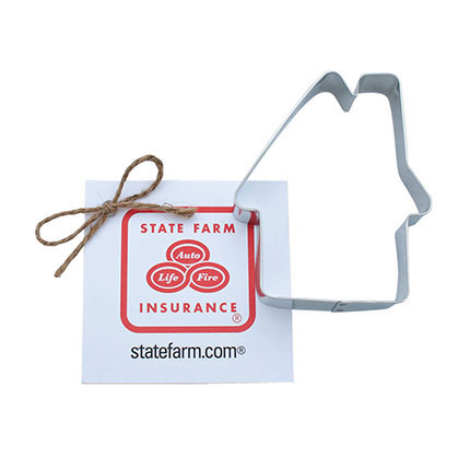 Custom Cookie Cutter - State Farm Insurance House