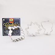 Custom-Sunmaid 3 Cutters Cookie Cutter