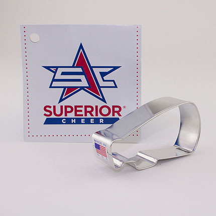 Custom-Superior Cheer Cookie Cutter