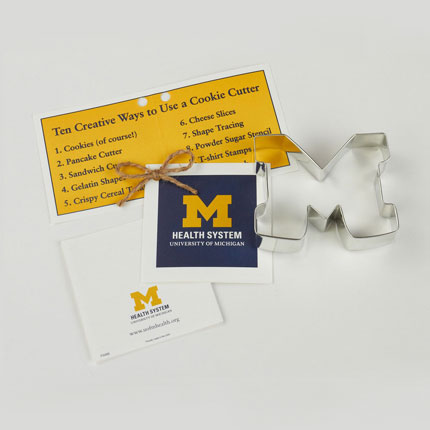 Custom Cookie Cutter - University of Michigan