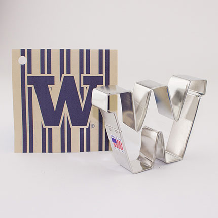 Custom-University Of Washington Bookstore Cookie Cutter