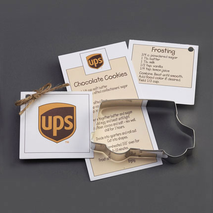 Custom Cookie Cutter - UPS Truck