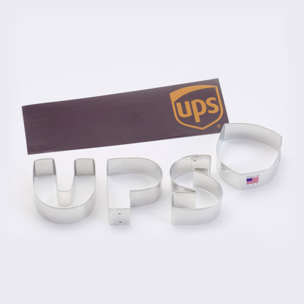 Custom Cookie Cutter - UPS Logo