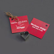 Custom Cookie Cutter - Verizon FiOS Heart