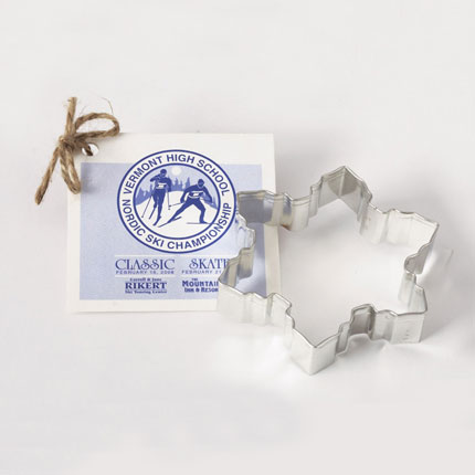 Custom Cookie Cutter - Nordic Ski Championship Snowflake