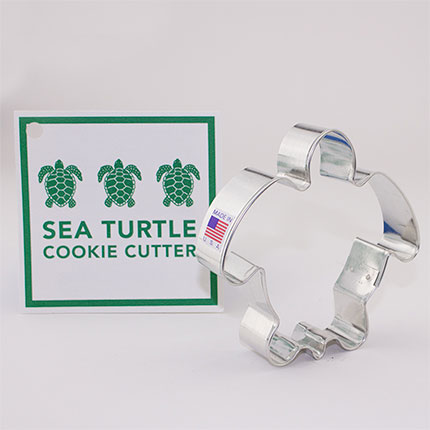 Custom-Virginia Aquarium Cookie Cutter