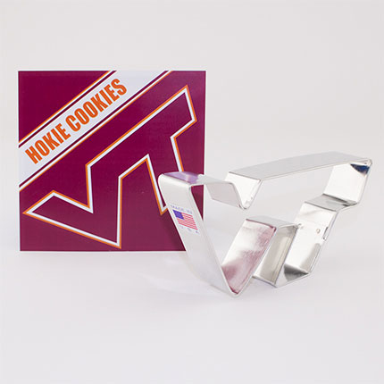 Custom-Virginia Tech Boxed Cookie Cutter