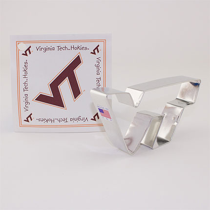 Custom-Virginia Tech Tied Cookie Cutter
